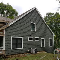 Siding in Progress Side