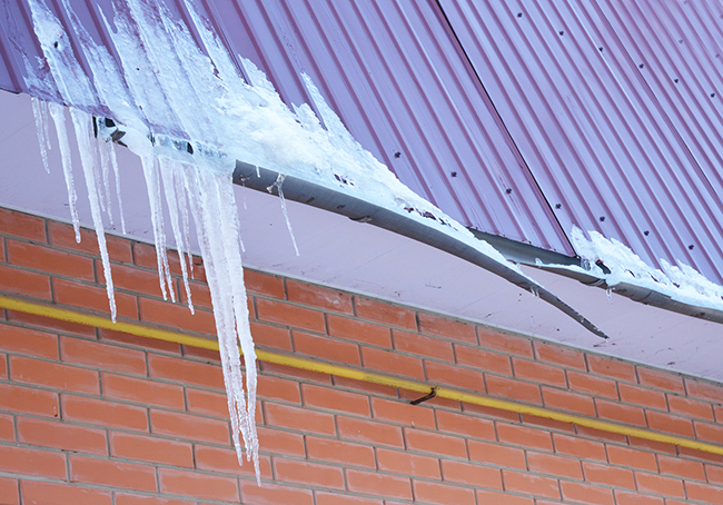 Tricky Winter Weather Damage To Roofs