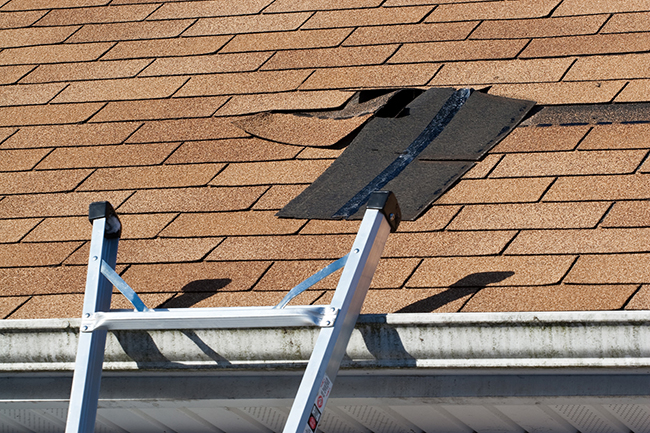 How to fix shingle damage after a storm